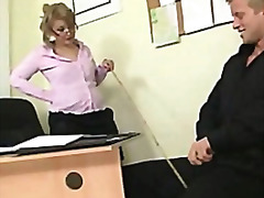 Office lady gives head...