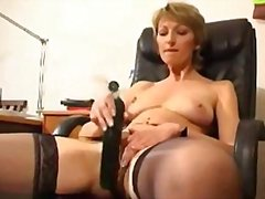 mature, granny, toys, milf, fingering, homemade