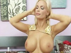 big, blonde, milf
