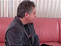 teen, brunette, blowjob, couple