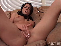 Rebeca's tight pussy g... video