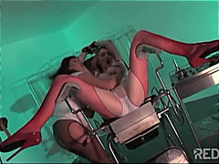 Fetish nurse action wi...