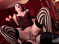 Redtube Movie:Aletta Ocean welcomes you to t...