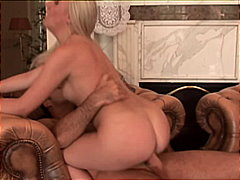 Man of the house spanks the maid