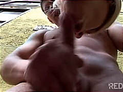 Redtube Movie:Sexy blowjob around the corner