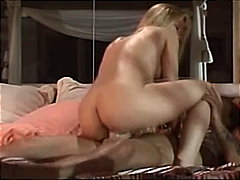 Julie Meadows covered with cum