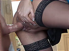 Busty Regina bangs her boy... - 13:25