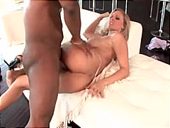 julia ann,  interracial, big tits