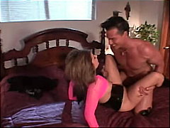 couple, gagging, blowjob, shaved, brunette, cfnm, anal sex, pornstar