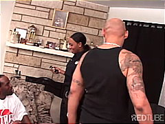 milf, police, threesome, blowjob