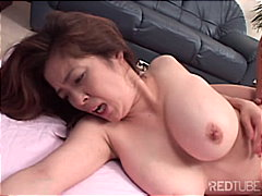 couple, big tits, japanese, blowjob