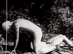 vintage, outdoor, blowjob