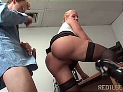 milf, tattoos, blowjob, secretary
