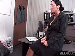 milf, titfuck, office, couple,