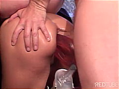 masturbation, threesome, blonde,
