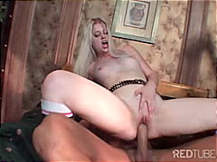 blowjob, pornstar, tattoos, muscular, couple, small tits, blonde, caucasian, shaved, cum shot, deepthroat