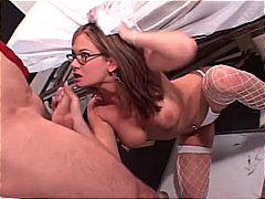 facial, anal sex, high heels