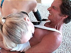 swallow, blonde, toys, masturbation