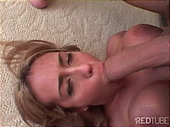 Redtube Movie:Busty sandwich can't get enough