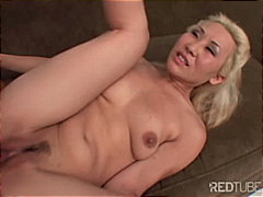 Blond Asian creampie p... preview