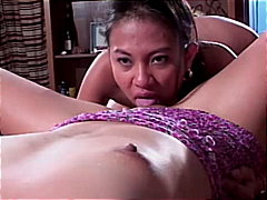 masturbation, small tits, asian, shaved, blonde, toys, office, strap-on