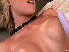 blonde, shaved, masturbation, toys,
