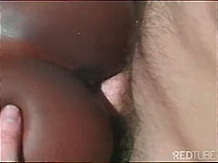 interracial, couple, blowjob, ebony,