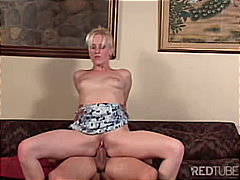 blonde, couple, blowjob