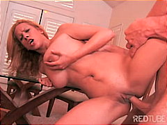 blonde, couple, blowjob, shaved,