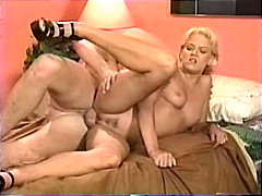 Blond MILF gets screwed