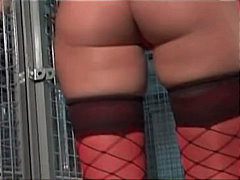 Redtube Movie:Caged slave girls playing