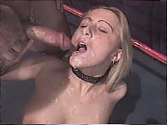 cum shot, blonde, piercings, couple
