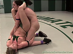Redtube - Lesbian fighters love ...