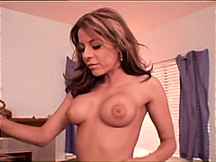 Hot MILF sucking off