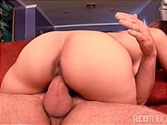 Redtube Movie:Trying to slip into her headhole