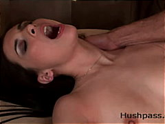 shaved, couple, blowjob, interracial
