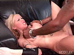 couple, blonde, shaved, interracial,