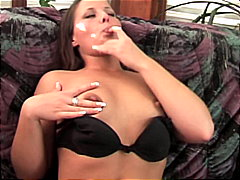 Redtube - Amateur bitch on sofa