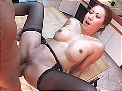 cum shot, asian, brunette, blowjob