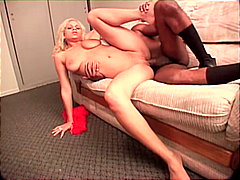 office, couple, blowjob, interracial