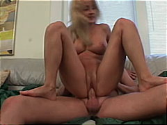 blonde, couple, blowjob,