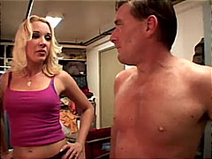 Redtube Movie:Hot blondes blowing in the clo...