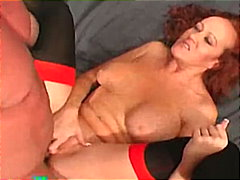 Redtube Movie:MILF redhead likes to be bange...