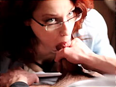 Redhead with glasses g... video