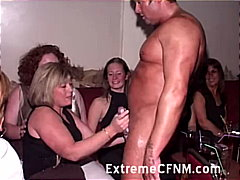 party, gangbang, caucasian, blowjob