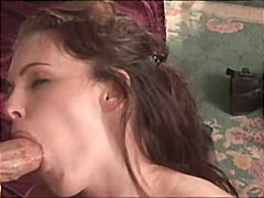 Young brunette fucked ...