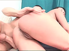 asian, shaved, couple, anal sex