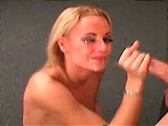 Pretty blond chick get... preview