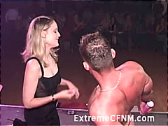 party, couple, blowjob, cfnm,