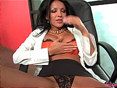 Horny secretary needs ... video